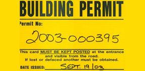 Image: Building Permit