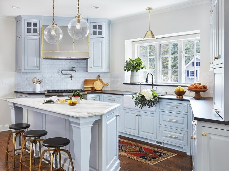 Bold New Colors For Kitchen Cabinets Bradford And Kent